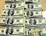Dólares apreendidos pela PF com Vieira da Silva