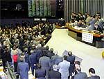 Deputados em votação de processo contra Dirceu