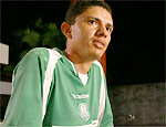 O caseiro Francenildo Santos Costa