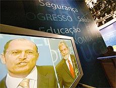 Debate entre Lula e Ackmin mobiliza assessores e partidários em emissora de TV em SP