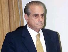 O senador Ramez Tebet, morto nesta sexta-feira, aos 70 anos