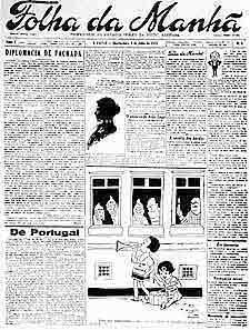 Primeira edição da Folha da Manhã 4761d01df1