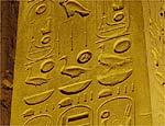 Patos retratados no templo de Luxor, Egito (1279 a 1213 a.C.)