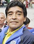 """Maradona levou um """"olé"""" da Sony em cima da hora"""