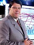 O apresentador Luciano Faccioli