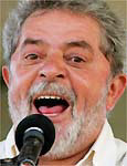 Lula não grita?