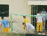 Presos rebelados em Franco da Rocha (Grande SP)