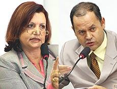 Os advogados Maria Cristina de Souza Rachado e Sérgio Wesley da Cunha