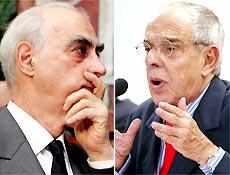 O governador de São Paulo, Cláudio Lembo, e o ministro da Justiça, Márcio Thomaz Bastos