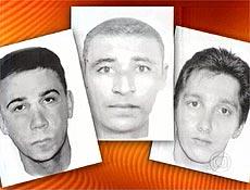 Retratos falados de suspeitos de seqüestrar repórter e técnico da Globo, em São Paulo