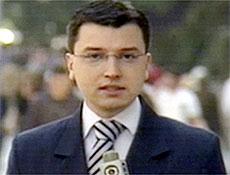 O repórter da Rede Globo Guilherme de Azevedo Portanova, seqüestrado em SP