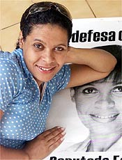 A vereadora Sandra Arantes do Nascimento, filha de Pel�