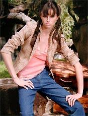 A modelo Ana Carolina Reston Macan, morta por anorexia nervosa
