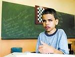 Aos 16, deficiente é campeão de matemática