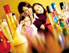 A farmacêutica Luciana Knobel, 34, que reconhece a presença das filhas pelo olfato