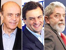 Serra e Aécio já negociam futuras parcerias entre seus Estados e a União com Lula
