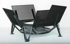 Cadeira Landen, do alemão Konstantin Grcic