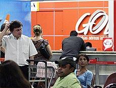 Gol divulgou telefone para que parentes de passageiros recebessem informa��es