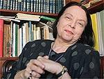 A escritora Nélida Piñon