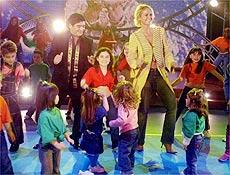 Xuxa e Maradona até dançaram durante o programa, exibido ontem à noite