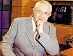 O jornalista Boris Casoy, que deixou a Record
