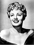 Atriz Shelley Winters nos anos 50