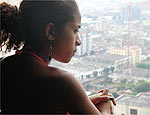 Janaína Cristina, 18, é a líder mais nova do MSTC