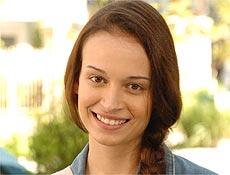 A atriz Marcella valente, que estréia em novelas no papel de Cris