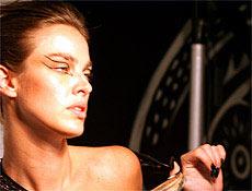 Let�cia foi descoberta aos 18 anos enquanto jogava v�lei na cidade de Porto Alegre