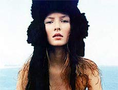 Modelo catarinense Solange Wilvert chegou ao topo da carreira em apenas dois anos