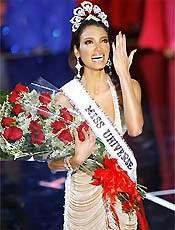 A porto-riquenha Zuleyka Rivera Mendoza, eleita Miss Universo 2006