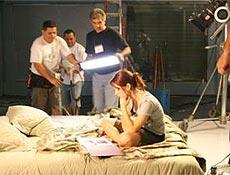 Sandy e Junior gravaram curta-metragem