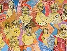 Obra da artista plástica brasileira Fátima Miranda, inpirada em Sebastião Salgado