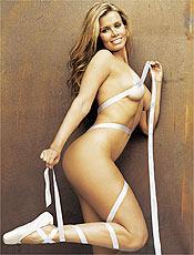 """Dan�a inspira ensaio de Ivonete, capa da """"Sexy"""" de setembro"""