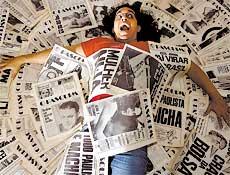 Jornalista Sandro Furtado, do Memória Viva, que publica também biografia de famosos