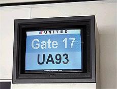 """grande apelo de """"Vôo 93"""" é o fato de usar o tempo real dos atentados de 11/9"""
