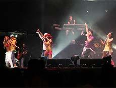 Grupo cantou para 20.000 pessoas em Manaus