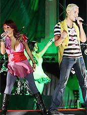 21 mil pessoas conferiram o show do RBD em Fortaleza, na sexta