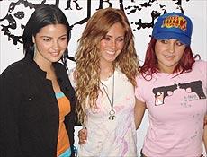 Mayte Perroni, Anahí Giovanna, Dulce Maria; as três componentes de RBD em São Paulo