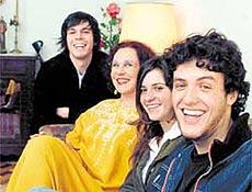 """Idealizadores da """"Pantera"""": Esmir, Maria Alice, Mariana e Rafael (da esquerda para a direita)"""