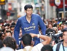 Chinês andou pelas ruas do Rio de Janeiro