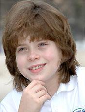 Pedro Malta, 12, interpreta Felipe