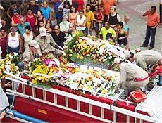 Jece Valadão foi enterrado nesta quarta-feira, em Cachoeiro de Itapemirim, no Espírito Santo
