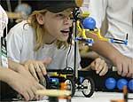Estudantes participam de competição na Robótica 2005