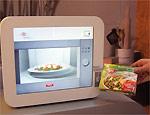 Microondas evita comida crua ou queimada