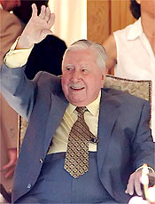O ex-ditador chileno Augusto Pinochet que morreu aos 91 anos