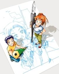 Concurso de mangá da Folha Teen
