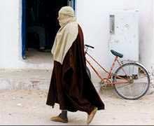 Homem em Douz, à beira do Saara