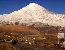 Monte Damavand, o mais alto do Irã