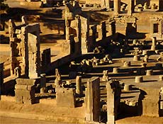 Persépolis é principal sítio arqueologico do Irã